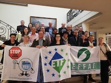 European Federation of Transport Workers demonstration